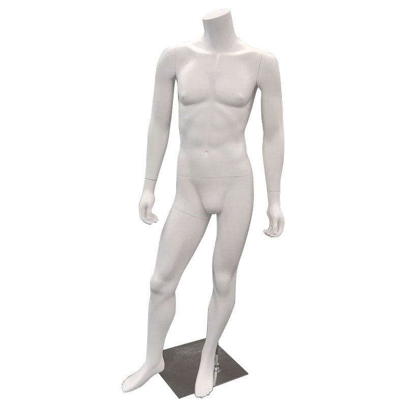 1-MA2MW headless mannequin