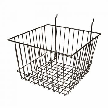 12W X 12D X 8H DEEP BASKET BLACK