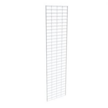 SLATGRID 2W X 8H - 1 PIECE CHROME