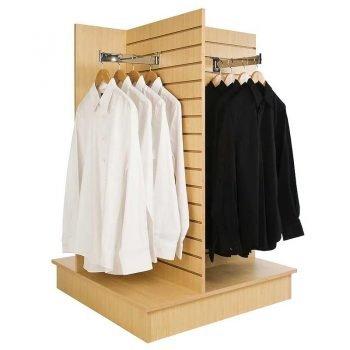 4-way slatwall merchandiser