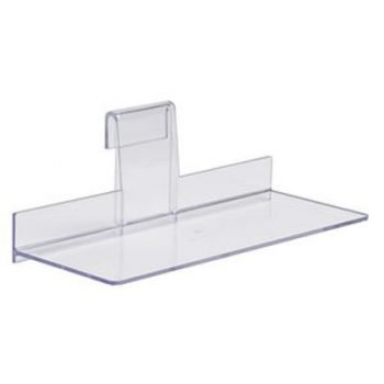 4X 10 INJECTION MOLDED STYRENE SHOE SHELF