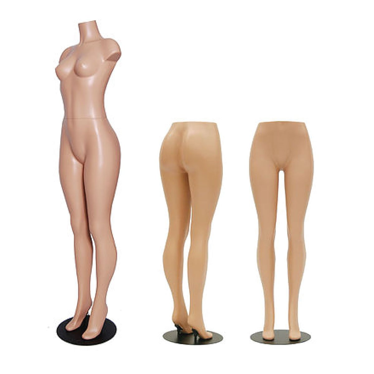 Brazilian Hips Style Mannequin: With or Without Torso
