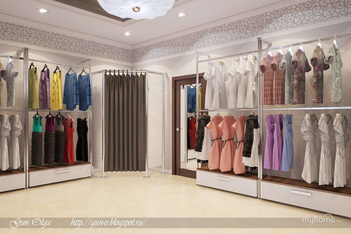 clothing store displays design