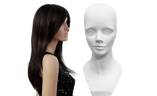 mannequin heads wigs
