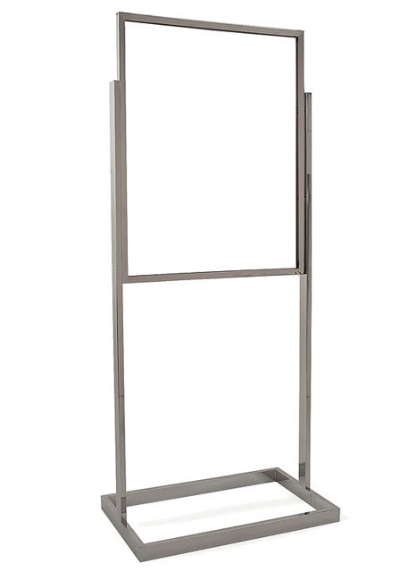 Floor stand black or chrome