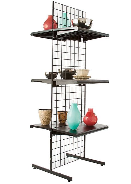 Straight legs shelving