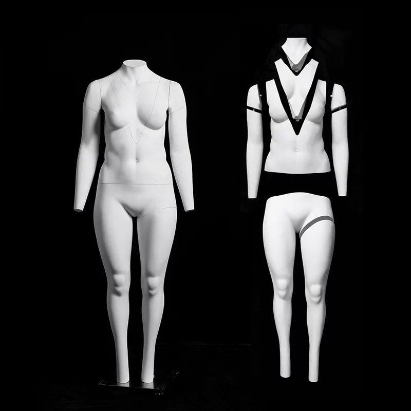 GH10 plus size mannequin