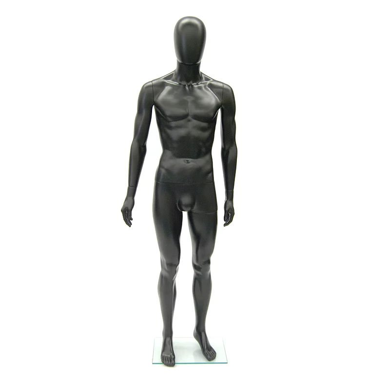 PS-SM1BKEG egg head male-mannequin