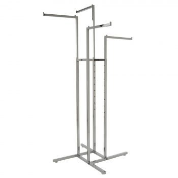 4-way rack straight arms