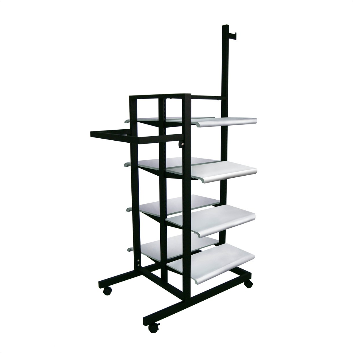 3 Sided Merchandiser 8 Shelves