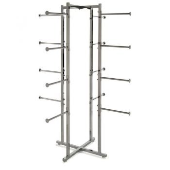 Folding Lingerie Tower – Square Tubing