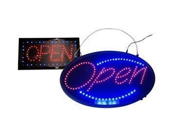 LED Open Signs Lightbox