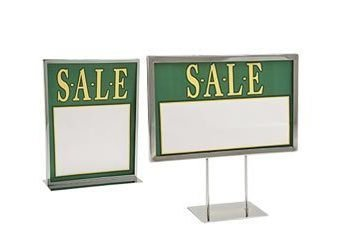 Mitered Corner Sign Holders
