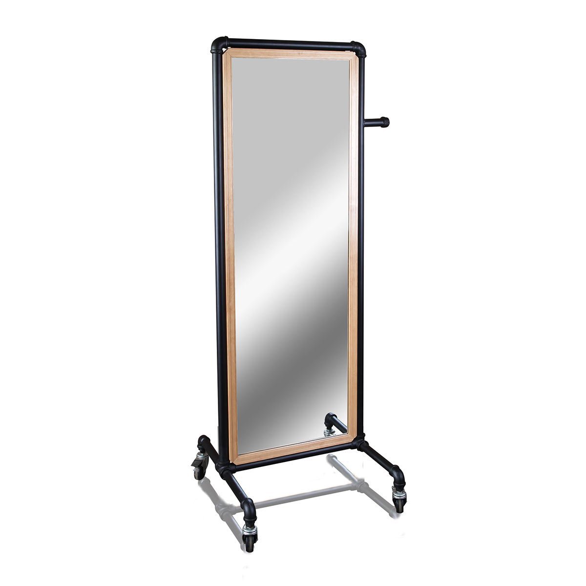 Pipeline Mirror with Casters