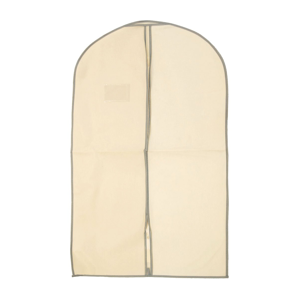 Polyester-Zippered-Suit-Covers Brown