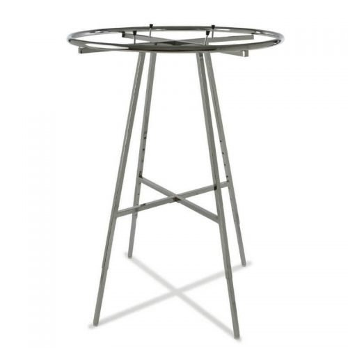 Round Clothing Rack with 36inch round hangrail