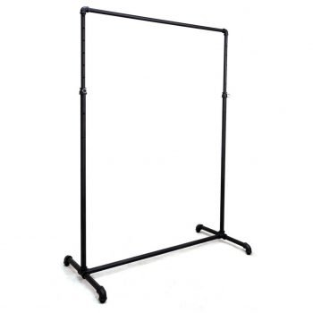 ballet bar rack black finish