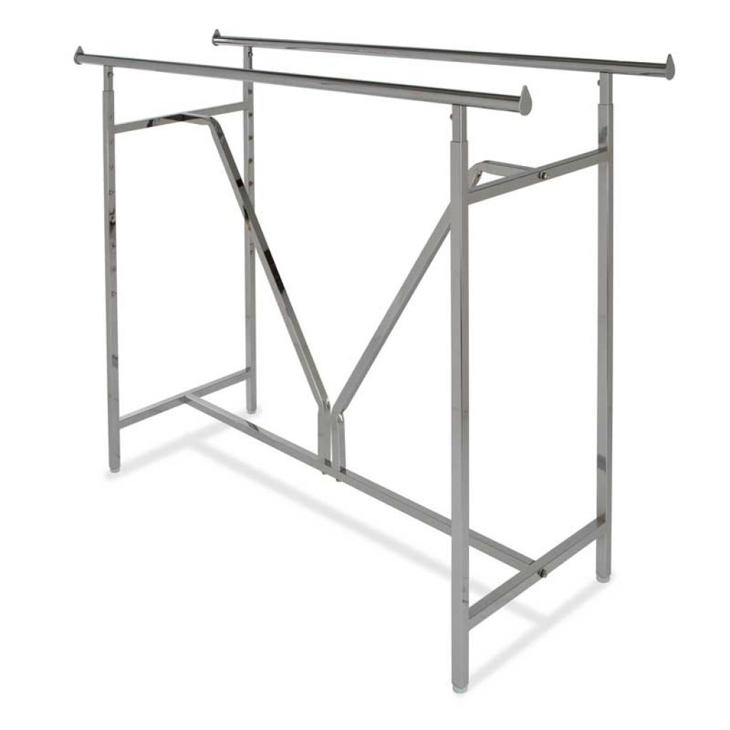 Heavy Duty Double Bar Rack