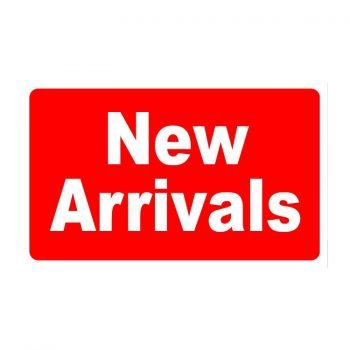 new arrivals red sign