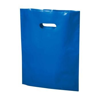 blue plastic bag 20x23