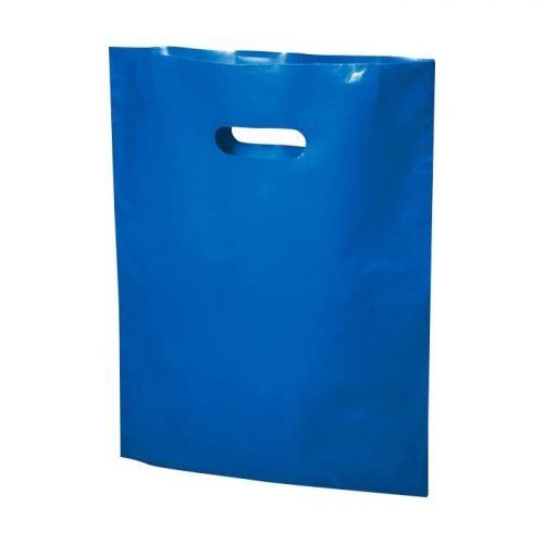blue plastic bag 20x23