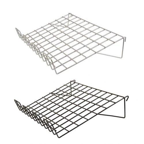 1-8 sloping grid shelves