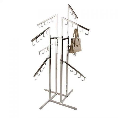 4-Way Handbag Rack