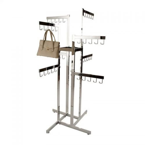 4-Way Handbag Rack 8 Straight arms