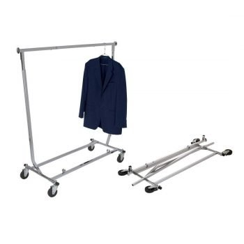 Collapsible Garment Rack Square Tubing