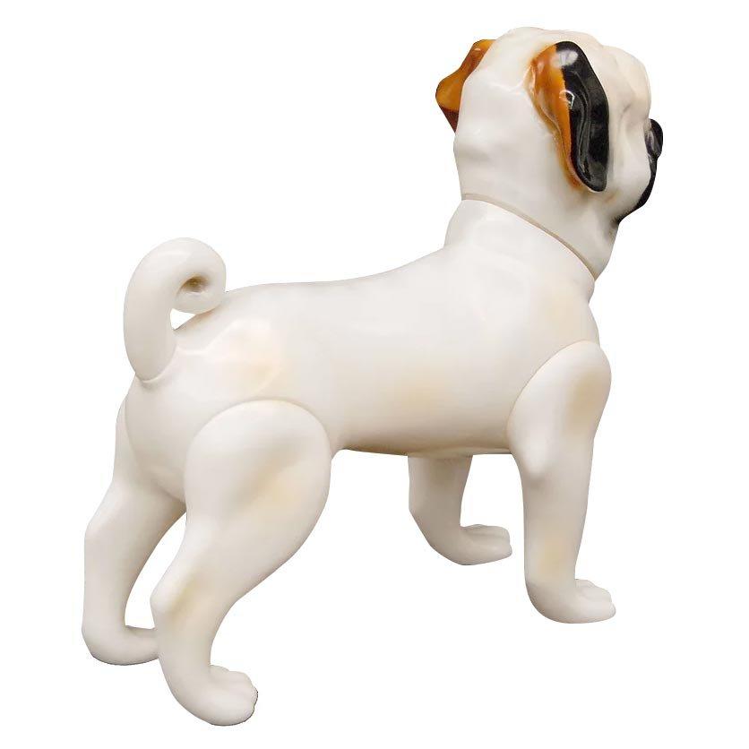 Pug dog mannequin