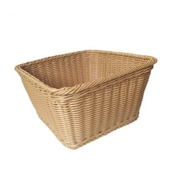 Rectangular Wicker Basket