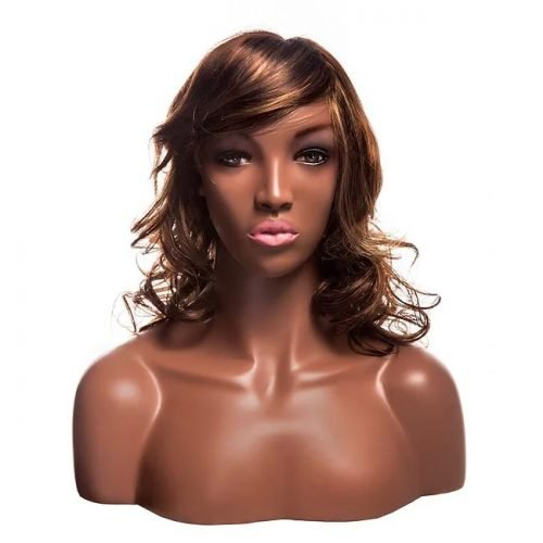 Young African Female mannequin head