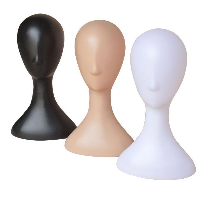 abstract female heads black white skintone