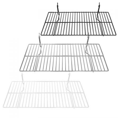 flat shelves