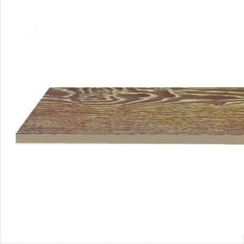 hickory finish melamine shelf 12x24