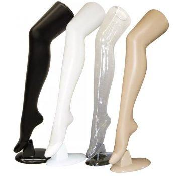 long plastic legs mannequin