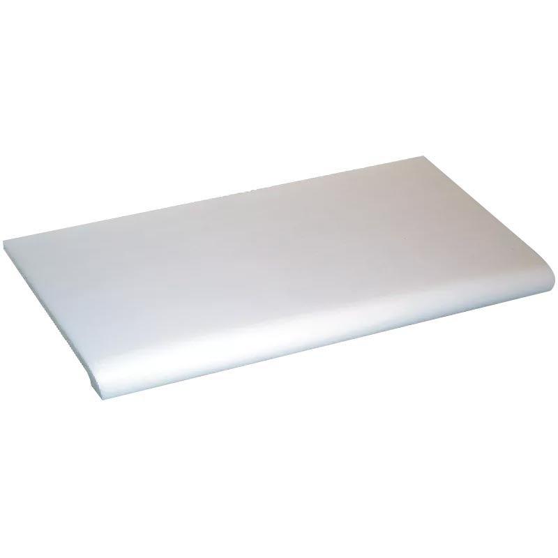molded shelf white
