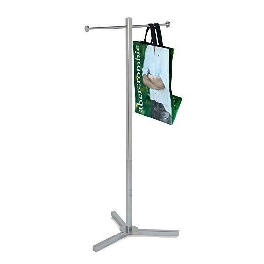 shopping bag rack
